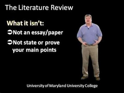 How to begin literature review